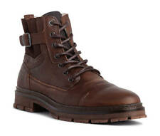 Bullboxer Tous Boots Brown Leather Grain Eu44 Lace-Up Tous20wSULO Bull Boxer