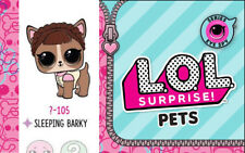 Lol Surprise Eye Spy Pets Series 4 Wave 2 Sleeping Barky New Sealed, In Hand!