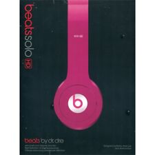 BEATS SOLO HD bubblegum ORIGINALI cuffie per DJ iPod iPhone Mp3 iPad garanziaIT