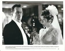 "Bruce Willis & Glenne Headly - wedding in ""Mortal Thoughts""  1991 Vintage Still"