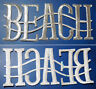Patch Aufbügler BEACH / Größe ca. 13x5 cm / Maritim