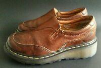 Dr Martens  Brown Leather Shoes Slip On Loafer Size UK 5 US 6 Womens US 7