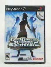 Dance Dance Revolution Supernova 2 Sony PlayStation 2 PS2 Brand New Minor Wear