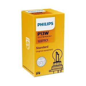 ampoule PHILIPS type de lampe P13W version ? douille PG18.5d-1