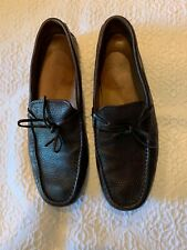 Tod's Men's Brown Leather Driving Shoes Size 9