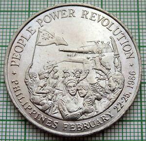 PHILIPPINES 1988 10 PISO, People Power Revolution, UNC
