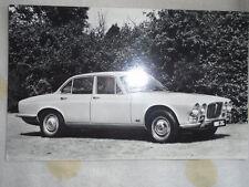 Jaguar XJ6 Saloon Postal c1968