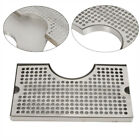 Beer Drip Tray Stainless Steel 304 Mount Kegerator w/ Tower Cutout Surface Mount