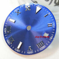 29.2mm blue sterile watch Dial fit eta 2836/2824 DG2813/3804 Miyota 82Series