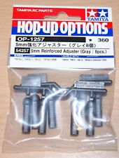 Tamiya 54257 5mm Reinforced Adjuster (Grey/8 Pcs.) (DB01/TRF501x/TRF503)