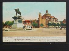 2395.-BARCELONA -2 Parque Monumento á Prim (1906) Postal sin División