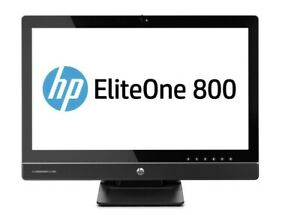 """HP ELITEONE 800 G1 23"""" AIO, i5 4670, 8GB, 500GB SATA, WIN 10 PRO"""