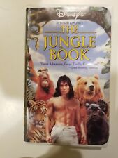 The Jungle Book VHS Tape Rudyard Kiplings Walt Disney Home Video