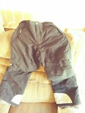 Faded Glory Men's. Sz Med Snowboard Ski Snow pants Black Waterproof +liner EUC