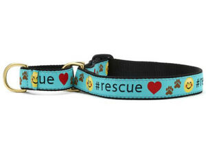 Dog Puppy Martingale Collar - Up Country - Made In USA - Rescue - S, M, L, XL