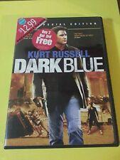 Dark Blue Kurt Russell Action Adventure Cop (Dvd, 2003, Widescreen & Full Frame)