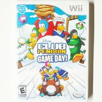 Club Penguin Game Day - Disney - cib - Wii Nintendo