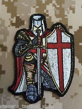 Red Crusader Knight Patch