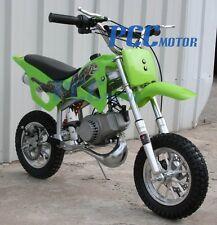 KIDS 49cc 2-Stroke GAS Motor Mini Pocket Dirt Bike Free S/H GREEN M DB49A