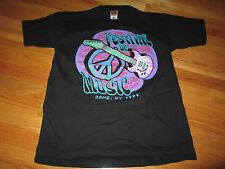 "1999 WOODSTOCK ""Festival of Music"" Rome, NY (LG) T-Shirt METALLICA MEGADETH"