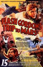Flash Gordon's Trip to Mars - Movie Cliffhanger Serial DVD Buster Crabbe