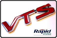 VTS Car Badge Emblem Sticker Logo Rear Boot Wing Fender Red 1.6 16v VTR (37R)