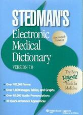 Stedman's Electronic Medical Dictionary V 7.0 User Upgrade (2007, Digital) NEW