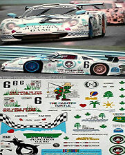 Porsche 911 GT-1 Watkins Glenn 2003 1:24 Pegatina Adhesivo