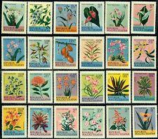 Maluku Selatan Tropical Flowers,Plants,Lily,Sage,Begonia,Petunia,Acacia,MNH