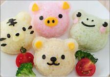 Japanese Cutie 3D Animal Bento Rice Mold and Seaweed Nori Cutter Set