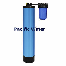 """PACIFIC 9X48"""" WHOLE HOUSE CATALYTIC CARBON FILTER  IN/OUT VALVE SED FILTER1 CF"""