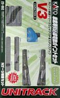 Kato 20-862 Nscale UNITRACK Variation Set V3 Rail Yard Switching Track Set JAPAN