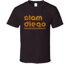 Slam Diego Retro Grunge Baseball Fan T Shirt