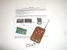 Mpj 32197mi 4 Channel Rf Remote Control Key Fob Transmitter Amp Receiver Module