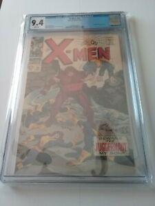 X-Men #32 CGC 9.4 White Pages Juggernaut Appearance, Super Clean Book Press 9.8?