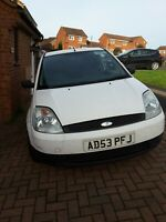 Ford Fiesta 1.4TDCi Van 2003 with Rear Seat