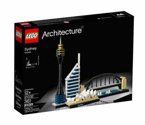 LEGO 21032 Sydney Architecture New Sealed Retired Brick Model Toy Opera Retired