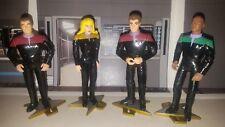 Equinox Crew Lot of 4  Star Trek Voyager CUSTOM action figures lot more loose #7
