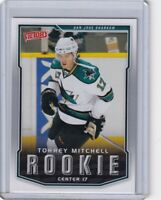 TORREY MITCHELL ROOKIE Card RC 2007 2008 UPPER DECK VICTORY NHL #342 SHARKS