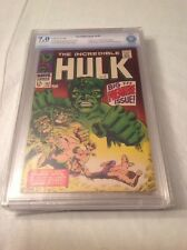 THE INCREDIBLE HULK 102 (Origin Retold) CGC 7.0 CBCS VF- STAN LEE!! NOT CGC