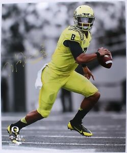 MARCUS MARIOTA Signed / Inscribed Running 20x24 Photograph STEINER LE 6/14