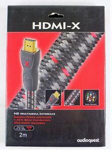 Audioquest HDMI Cable, HDMI-X, 2M, 6ft