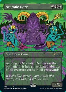 Necrotic Ooze x1 Magic the Gathering 1x Secret Lair Drop Series mtg card