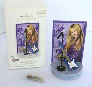 Hallmark Keepsake Hannah Montana Musical Christmas Ornament 2008 Disney Magic