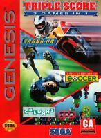 Triple Score - Sega Genesis Game