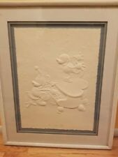 The Whoopee Party Mickey Minnie Mouse Disney Embossed Signed Numbered Lithograph