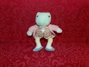 "Adorable 7"" Eden Plush FROG Frederick Warne (*82)"