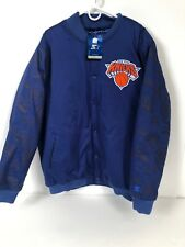 New York Knicks Starter Jacket Size 2XL vintage like blue puffer nwt with tags