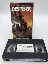 DESPISER RARE VHS Video Horror 2003 Phillip Cook Key East / FREE SHIPPING!