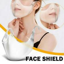 Transparent Durable Face Cover Face Visor Protection Combine Plastic Reusable
